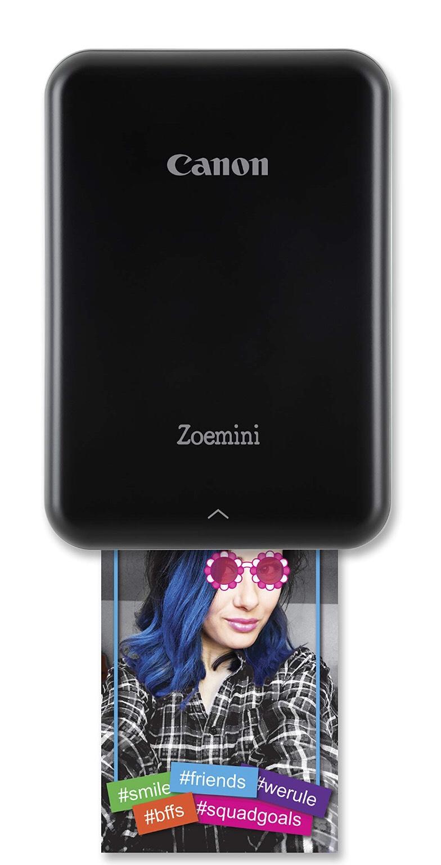 Canon Zoemini ZINK Smartphonedrucker in Schwarz
