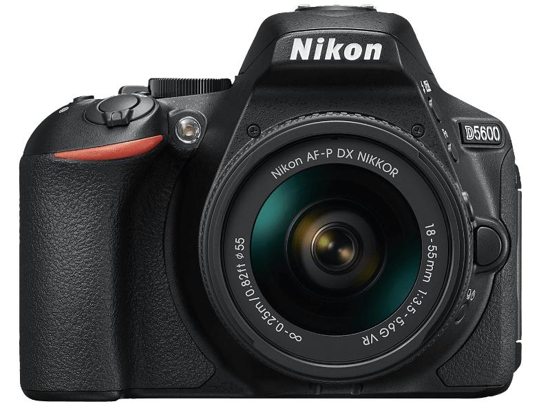 """Nikon Spiegelreflexkamera """"D5600"""" 18-55 mm VR-Kit inkl. Lieferung (444€ bei Markt-Abholung) [MediaMarkt]"""