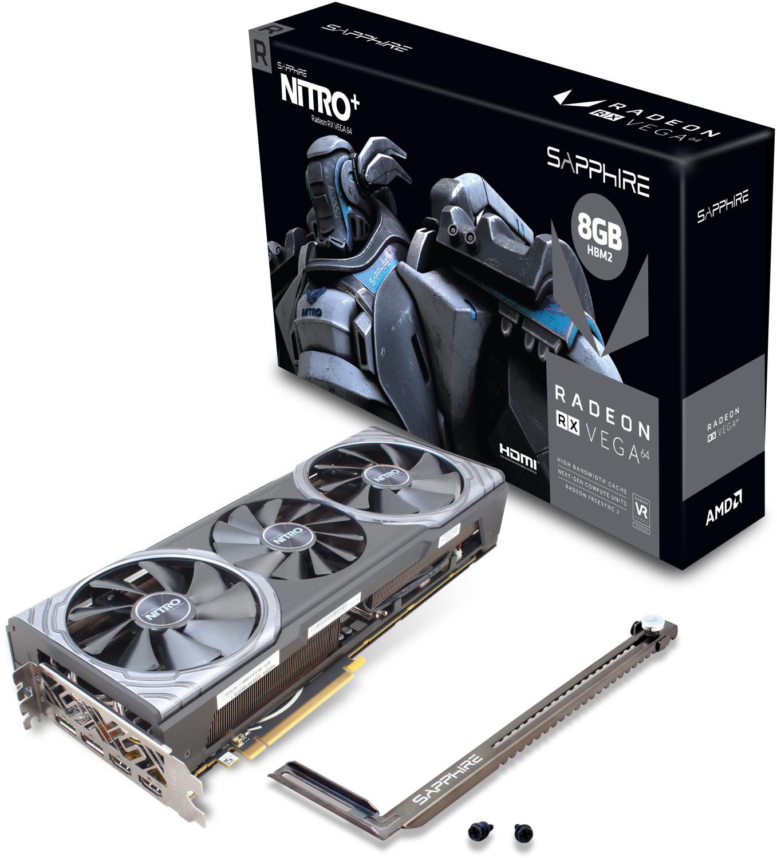 Sapphire Vega 64 Nitro+ Mindstar 0-6 Uhr