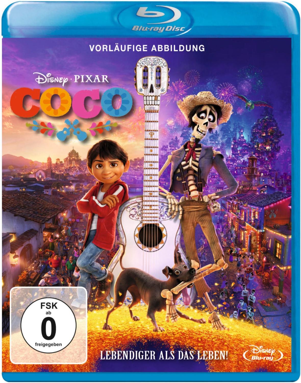 Coco - Lebendiger als das Leben! (Blu Ray) für 5,99€ inkl. Versand (Sky Store)