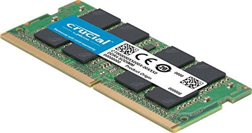 Crucial 16GB (8GB x2) DDR4-3200 SODIMM CL=22 Single Rank