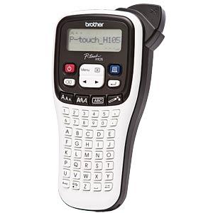[Reichelt Elektronik] Brother P-touch H105WB Beschriftungsgerät (180dpi, 9mm Druckhöhe, 2 Zeilen, 8 Schriftstile, 178 Symbole) (Paydirekt)