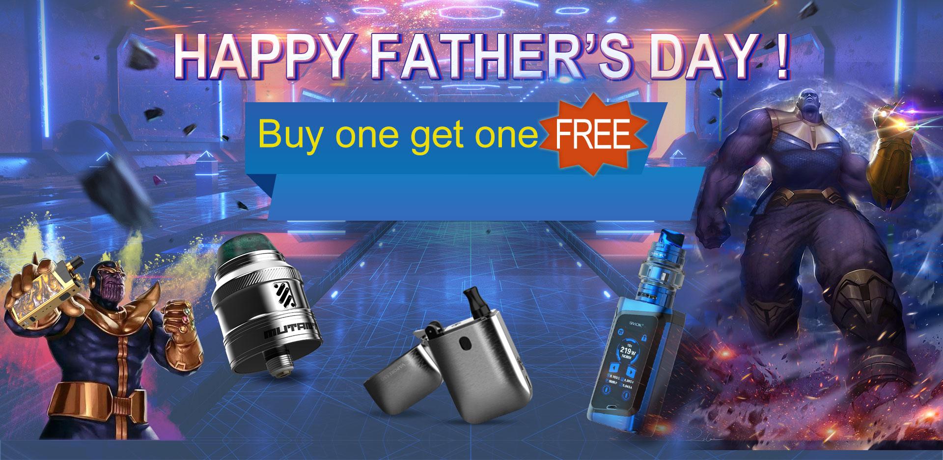 Vapesourcing Father's Day Sale - 10% auf alles, 15% auf Liquids - wechselnde Angebote