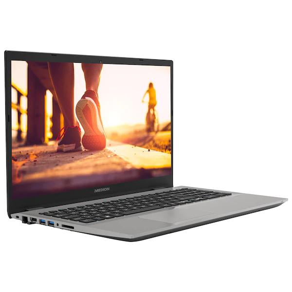 """Medion Akoya S6426 (15.6"""", FHD, i5-8250U, 8GB RAM, 512GB SSD, 2x USB 3.0, 1x USB 2.0, HDMI, Win10, 2 Jahre Garantie)"""
