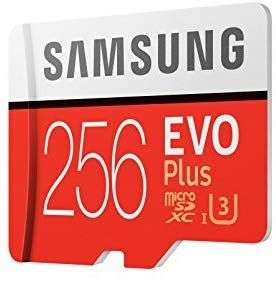 Samsung EVO plus 256GB stark reduziert