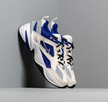 "Nike M2k Tekno Sneakers in ""Sail Deep Royal Blue Wolf Grey White Black"""