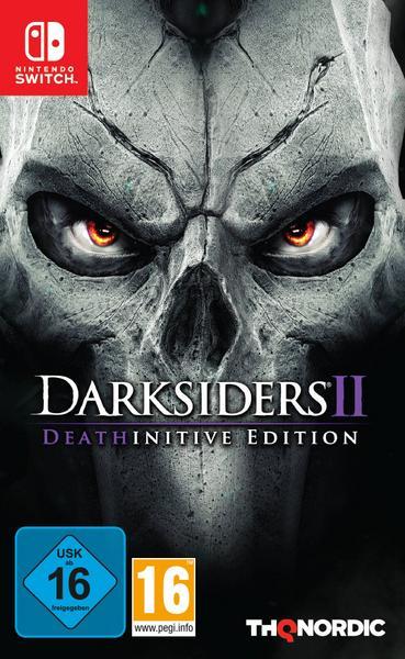 Nintendo Switch Spiele im Angebot bei Bol.de - Darksiders II - Deathinitive Edition für 22,95€