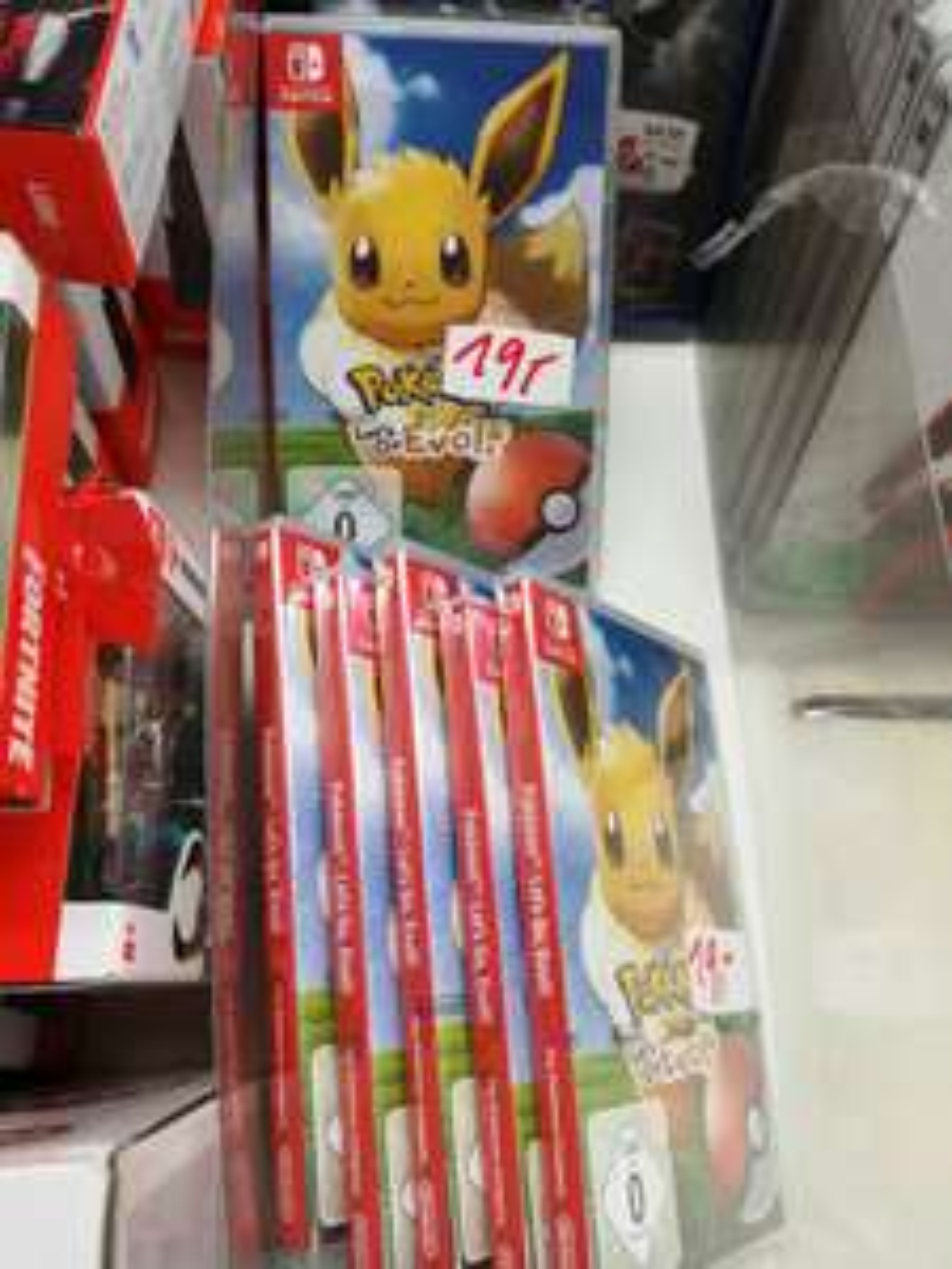 [LOKAL Buxtehude] [Media Markt] Pokémon Let's go Evoli für Nintendo Switch