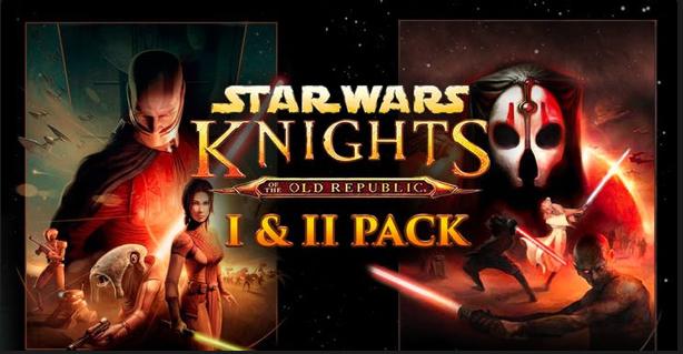 Star Wars: Knights of the Old Republic I & II Pack (Steam) für 2,99€