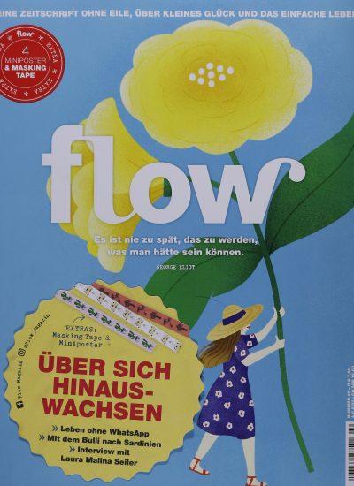 FLOW Abo (8 Ausgaben) für 63,20 € mit 16 € Prämie (per Überweisung aufs Konto) // gab bisher keine Prämie zu dem Abo