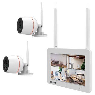 Full HD WLAN Überwachungsset von INKOVIDEO mit TOuchscreen