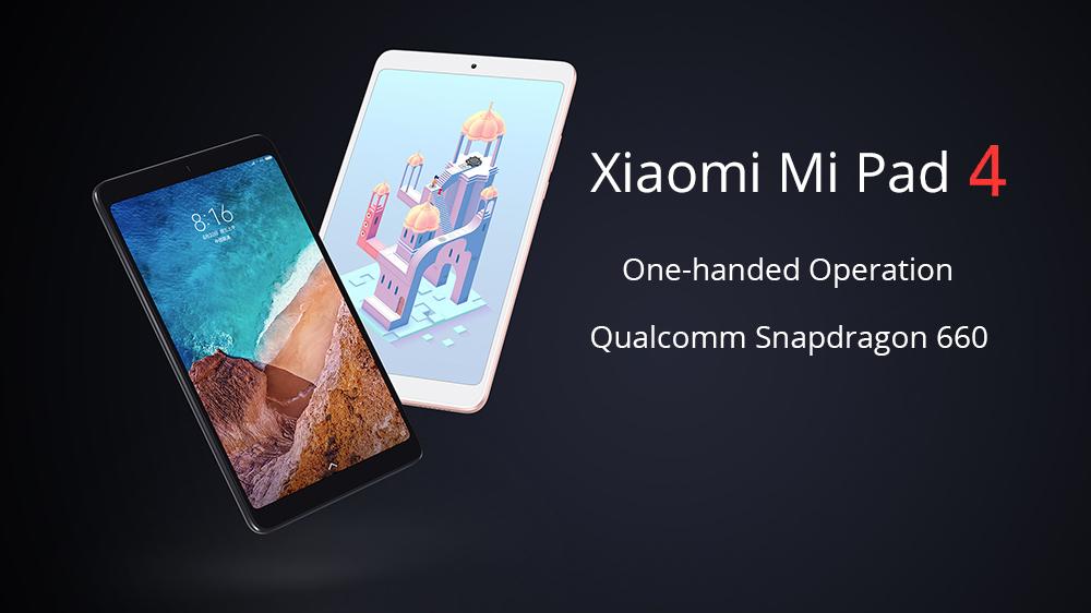 Xiaomi Mi Pad 4 WiFi 3GB + 32GB Global ROM
