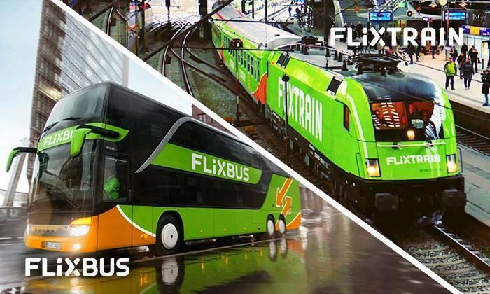 Flixbus / Flixtrain Freifahrt Gutschein Code Europaweit mit Umsteigen bis 31.07.19 [nur via iDEAL bestellbar]