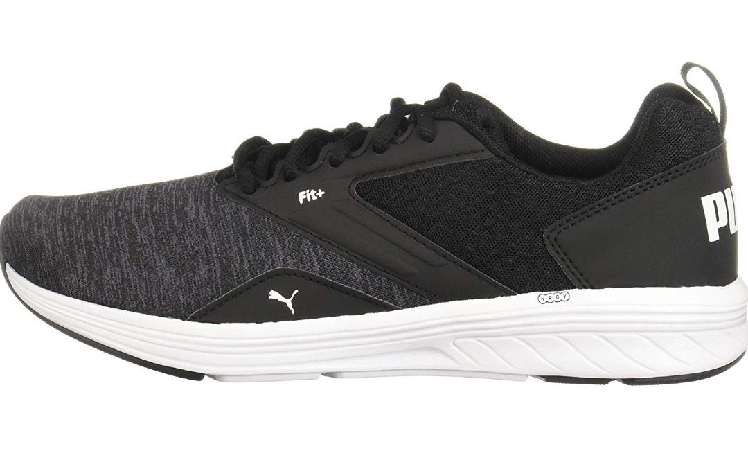 [Prime] Puma NRGY Lauf- / Freizeitschuh in schwarz-grau Größen 37,5 - 44,5