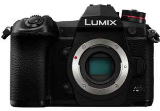 Panasonic Lumix G9 - Superheftig Micro Four Thirds Gerät (Sofortabzug an Kasse)