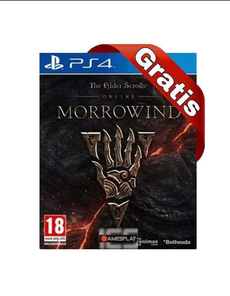 [Gamesflat] The Elder Scrolls Online - Morrowind (PS4)