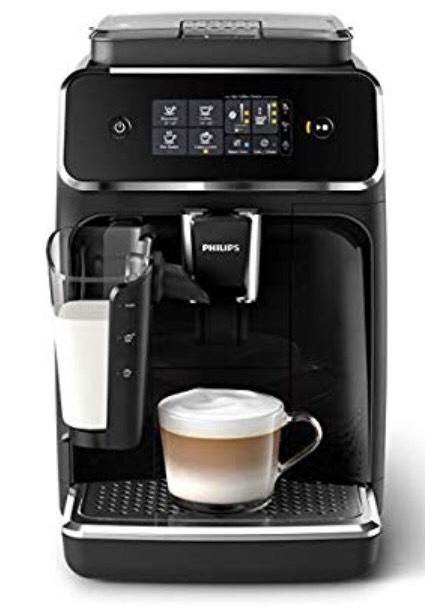 Amazon Philips 2200 Serie EP2231/40 Kaffeevollautomat (LatteGo Milchsystem) schwarz/klavierlack-schwarz