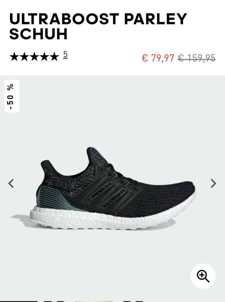 Adidas Ultraboost Parley, S&L etc