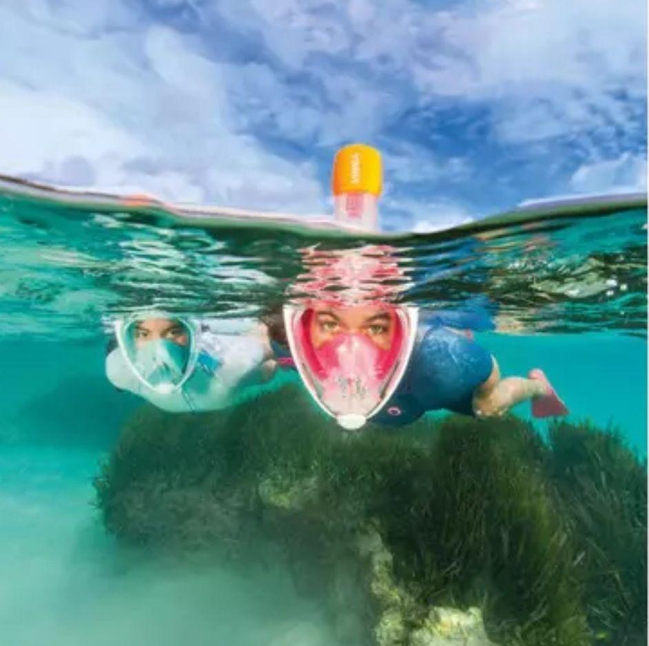 Decathlon Schnorchelmaske Easybreath in fünf verschiedenen Farben (Abholung)