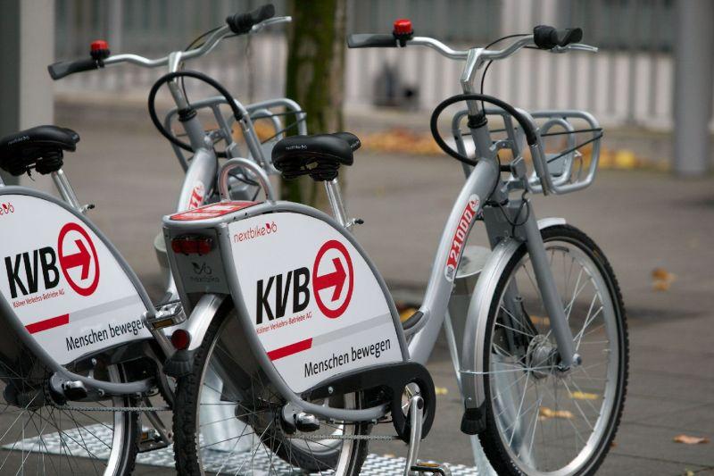 KVB / Nextbike Fahrrad ausleihen kostenlos dauerhaft 30 min pro Ausleihe mit Jobticket / Zeitkarteninhaber (Lokal Köln, Bonn & Leverkusen)