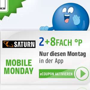 10-fach Payback Punkte bei Saturn am 17.06. (Mobile Monday)