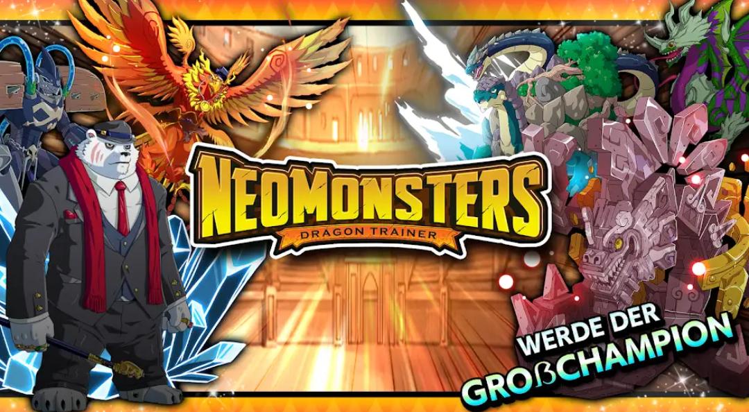 Neo Monsters kostenlos für iOS und Android (>500k Downloads, 4,5*)