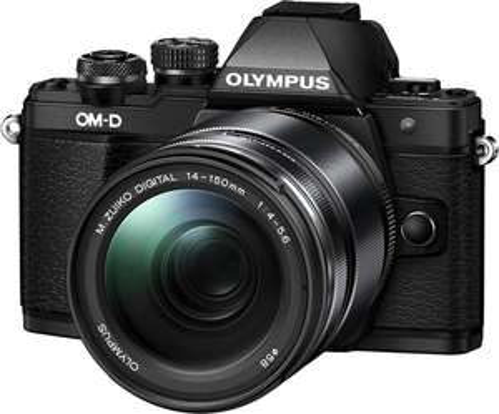 DSLM Olympus OM-D E-M10 Mark II mit Objektiv M.Zuiko digital ED 14-150mm II (16 Megapixel, 5 Achsen, OLED-Sucher, FHD, WLAN, Metallgehäuse)
