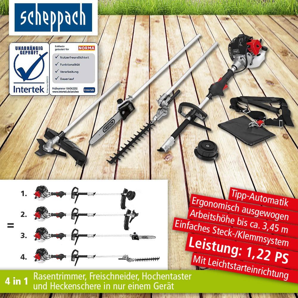 Scheppach 4 IN 1 MULTIFUNKTIONSGERÄT MFH 3300-4 P bei Norma 24 mit Gutschein 35%
