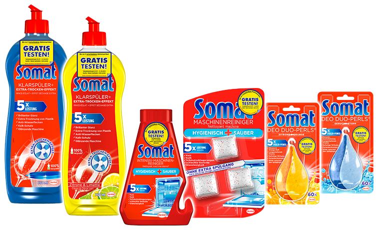 [GzG] Somat Zusatzprodukte bis zu 3 Stück gratis testen 2019
