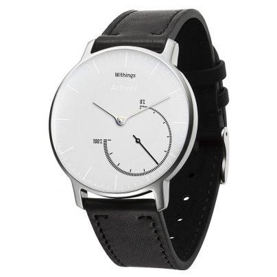 Withings Steel Armbanduhr mit Aktivitäts- & Schlaftmessung (36mm)