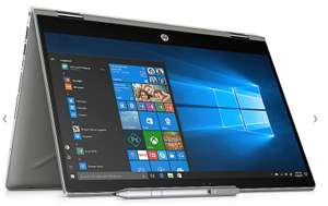 HP Pavilion x360 14-cd0103ng 2in1 Notebook silber i3-8130U Full HD SSD Win 10