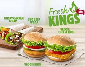 Burger King – neue Spar-Coupons/ Gutscheine/ PLU´s bis 03.08.2019 ++ neu Veggie King & Veggie Cheese King Menü