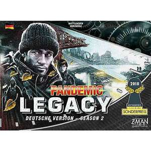 [Rakuten] Pandemic Legacy - Season 2 (schwarz) - Bestpreis - Spiel des Jahres 2018 Kritikerpreis