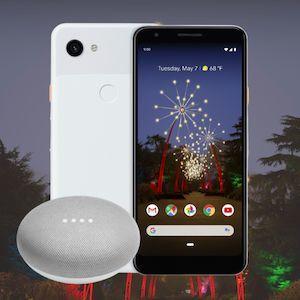 Google Pixel 3a + Google Home Mini für 29,99€ ZZ im MD Vodafone Green LTE (6GB LTE) mtl. 16,99€