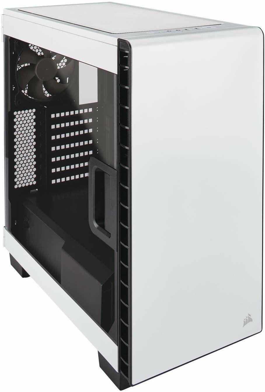 Corsair Carbide Series 400C PC-Gehäuse - Seitenfenster Midi-Tower ATX, weiß (Amazon/NBB)