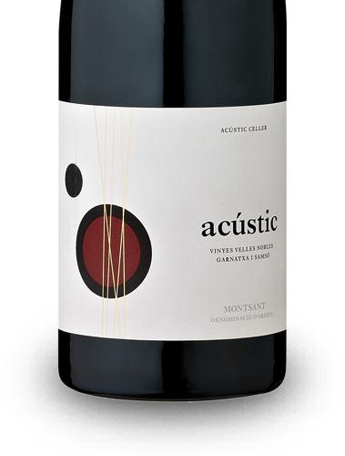 3 Flaschen Acustic Celler Montsant Acústic 2015 (Grenache + Carignan) [Vicampo]