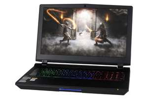 "Nexoc Desktop Replacement Gaming Notebook 15,6"" FHD 144Hz G-Sync, i7-9700K 8x 3.60GHz, RTX 2080, 32GB RAM, 500GB m.2 SSD, 1TB HDD, ohne Win"