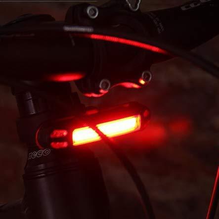 (eBay) XANES Fahrradlicht LED 500LM 2in1 (rot/weiss) für vorne und hinten
