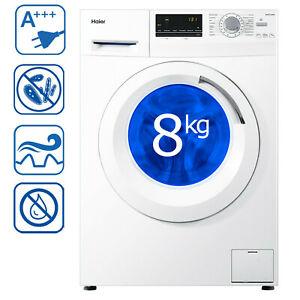 Haier HW80-14636 Waschmaschine Frontlader A+++ mit 8 kg und 1400 U/min inkl. VSK