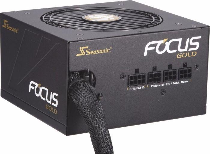 Seasonic Focus Gold 450W ATX 2.4 (teilmodular, 80 PLUS Gold, 7 Jahre Garantie) SSR-450FM [nbb]
