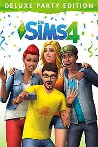 Die Sims 4 Deluxe Party Edition (Xbox One Download Code) für 10€ (Xbox Store)