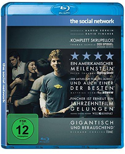 The Social Network (Blu-ray) für 6,16€ (Amazon Prime)