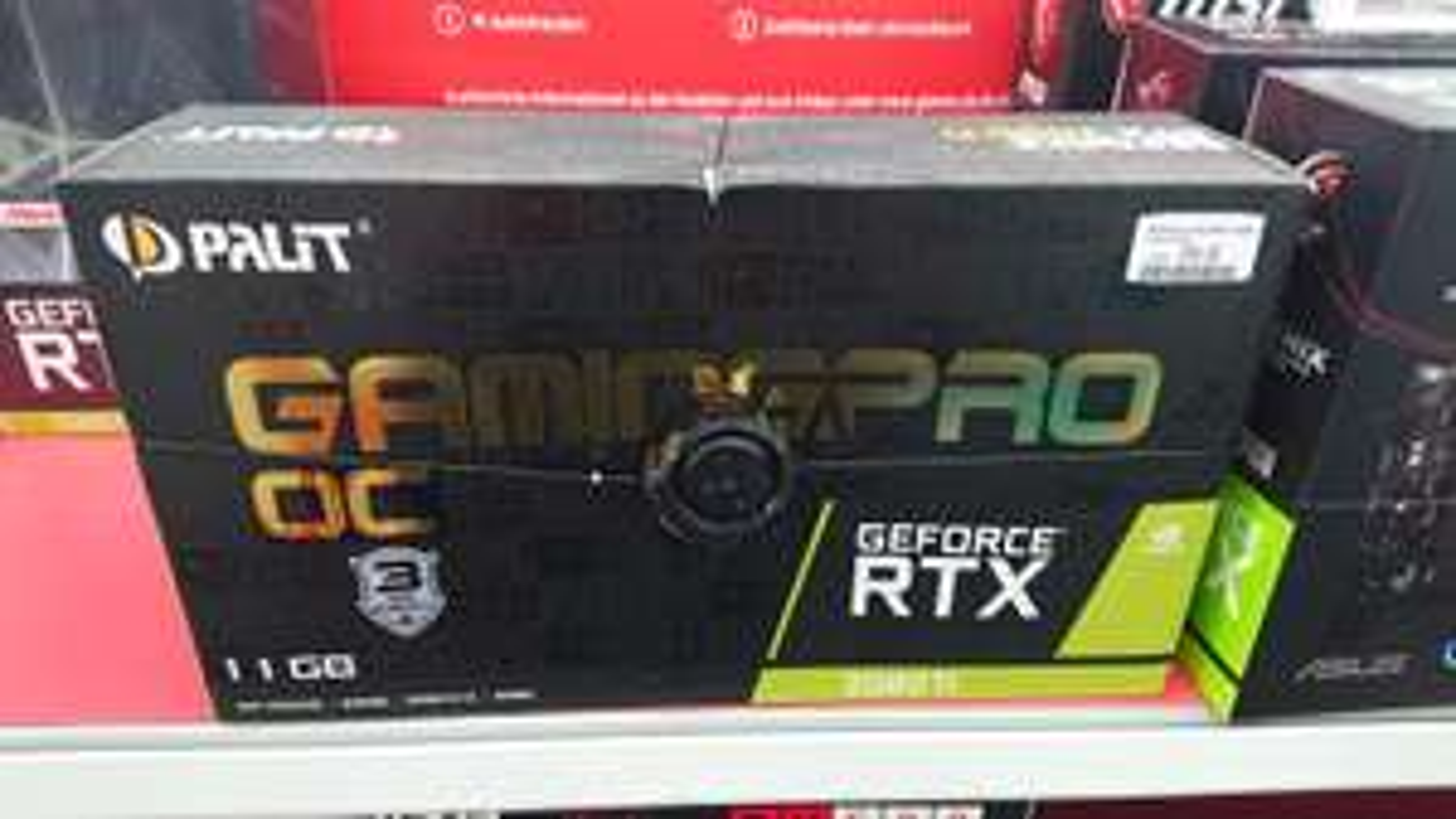 [LOKAL Media Markt Weiterstadt] Palit GeForce RTX 2080 Ti GamingPro OC, 11GB GDDR6 (NE6208TS20LC-150A)