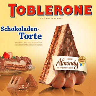 Mandeltorte Toblerone oder Daim für nur 2,22€ bei ( Zimmermann ab 17.6.)