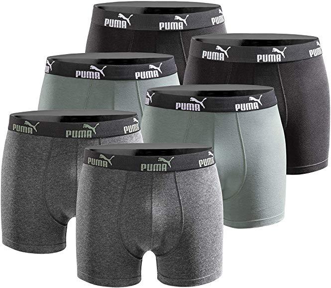 Puma Boxershorts im 6er Pack (29,49€) oder 9er Pack (42,89€) [Gr. S - XXL, Prime]