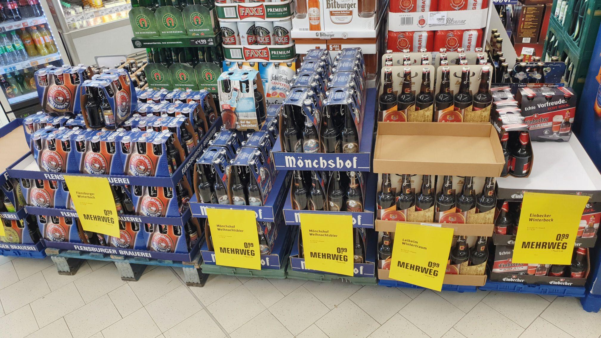 [Lokal Wiesbaden] diverse 6x0.33 Liter Bier Abverkauf