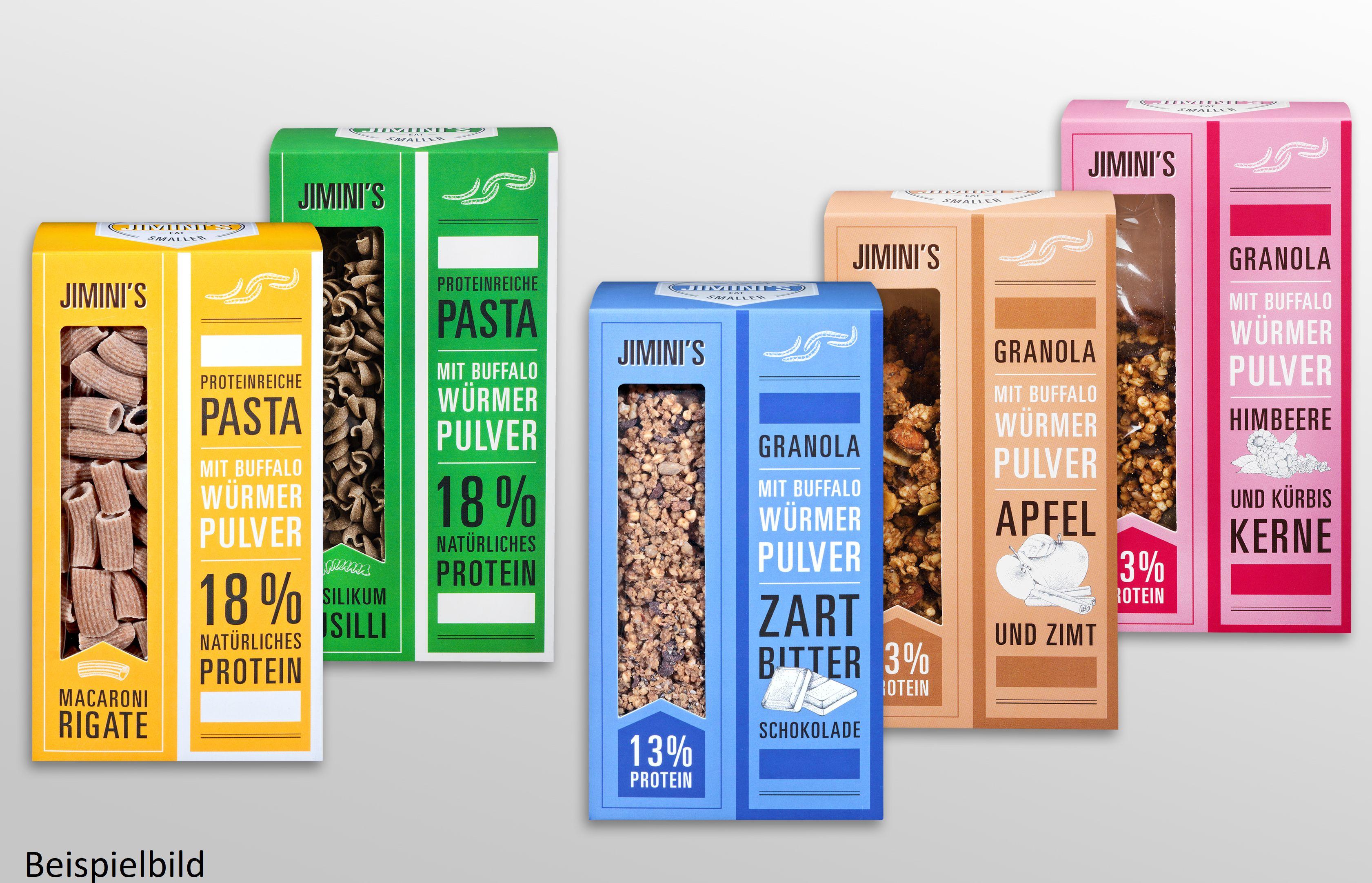 [Regional Kaufland Berlin} 25% Rabatt auf alle Insekten-Artikel wie zb...Jimini´s Insekten-Protein Riegel für 1,49€ je Stück