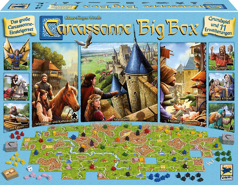 """Rakuten """"Arizona_Home"""" Brettspiele Sammeldeal (zB Carcassonne Big Box für 22€)"""