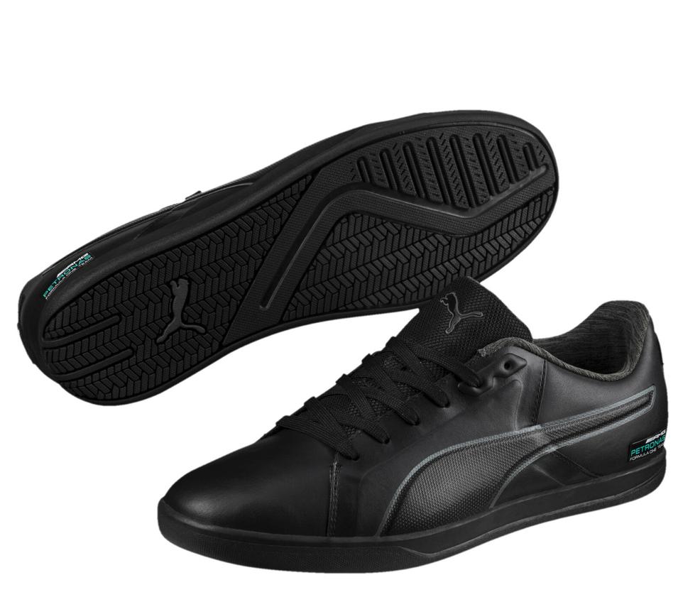 (eBay WOW) PUMA MERCEDES AMG PETRONAS Court Herren Sneaker Schwarz & Weiß