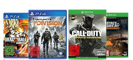 [Gamestop] 2 für 22 EUR auf ausgewählte gebrauchte Games (PS4 & XBOX One) oder Caps/T-Shirts oder POP!-Figuren